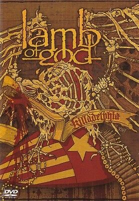Lamb Of God:- - - - Killadelphia – - - Dvd + Cd Set, Live 2004, 180 Minutes