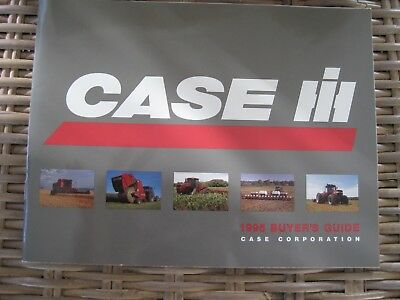 1995 Case IH Buyer Guide Color Brochure 51 Pages
