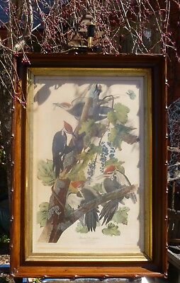 Antique Hand-Carved Walnut - MUSEUM QUALITY - Black Forest - Finest LARGE Frame