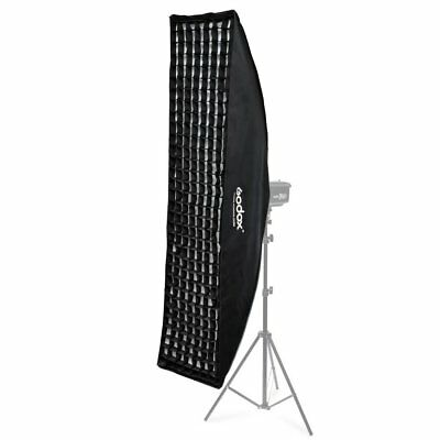 Godox 35x160cm Bowens Mount Strip Softbox With Grid For Studio Strobe Flash
