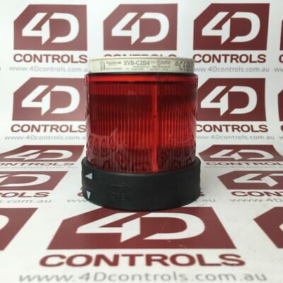 Telemecanique XVB C2B4 Illuminated (Red) Lens - Used