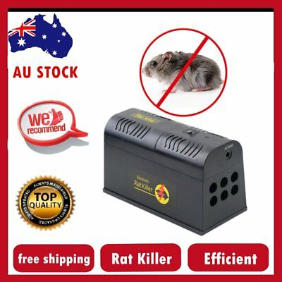 New Rodent Killer Electric Electronic Rat Mouse Mice Repellant Trap Au Stock Au