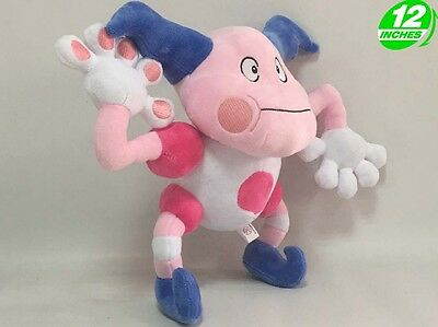 Big 12 inches Pokemon Mr.mime Plush Stuffed Animal Doll PNPL8390