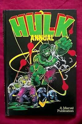HULK Annual , Excellent Condition , No Missing Pages, No Marks