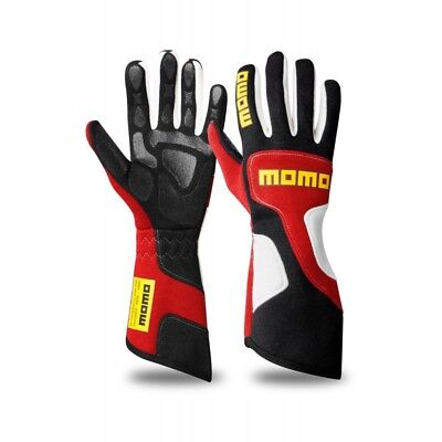 New MOMO Xtreme Pro Gloves Red Fire Resistant Nomex Silicone Coated Palm Insert