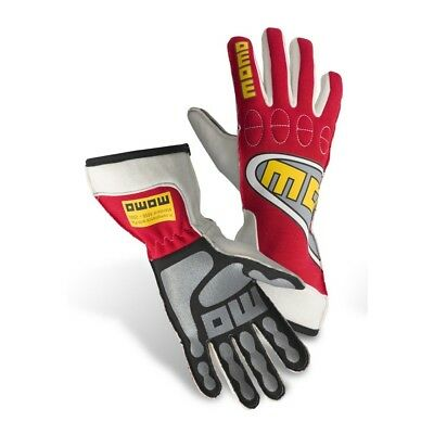 New MOMO Top Light Gloves Red Fire Resistant Nomex Silicone Coated Palm Insert