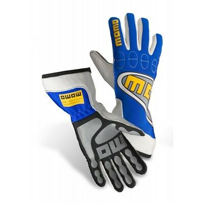 New MOMO Top Light Gloves Blue Fire Resistant Nomex Silicone Coated Palm Insert