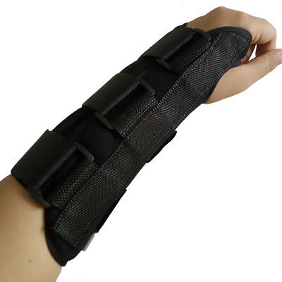 New Pair Carpal Tunnel 1 Wrist Brace Support Sprain Forearm Splint Band Strap