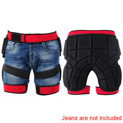 Motorcycle Motocross Skiing Armor Shorts Protection Padded Pants Hip Protector