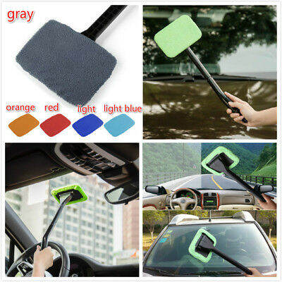 Microfiber Windshield Clean Shine Car Auto Wiper Cleaner Glass Window Brush FGK5