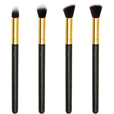 4PCS Pro Women Blending Brush Set Eye Shadow Eyeshadow Makeup Cosmetic Tools