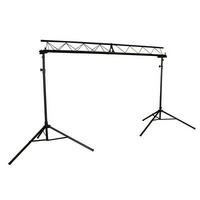 QTX Light Triangle Lighting Disco DJ Party Stand Truss System 3.0m Gantry