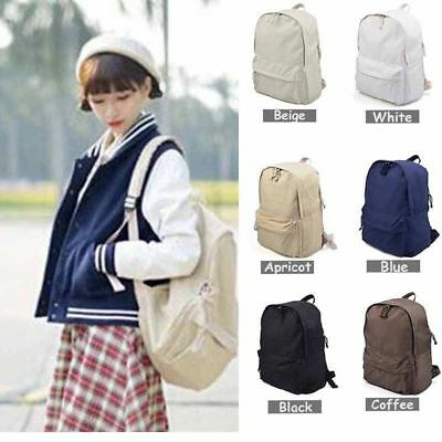 Fashion Backpack Shoulder Rucksack Canvas Travel bags School Handbags EI KP