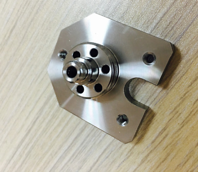 Stainless Steel Agie Charmilles Parts, C138 Wire Guide Die Block Lower