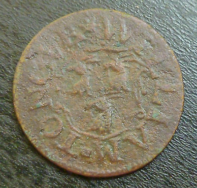 Oxfordshire Oxford 17th Century Farthing Token W175 1/4d 1661 William Tongue