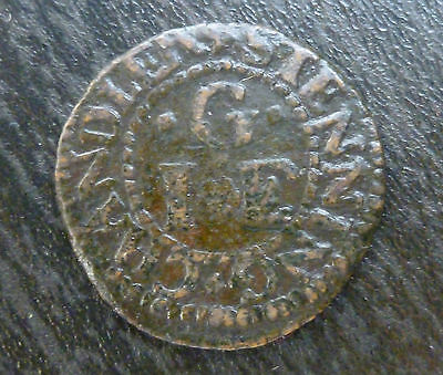Sussex Steyning 17th Century Farthing Token W164 1/4d John Groomes SCARCE