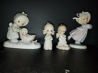 Lot of 4 Vintage Precious Moments