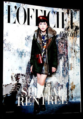 L'OFFICIEL ENFANT Magazine Spring 2015 Kids Children Ninos Bambini Fashion