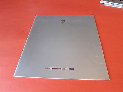 "New 1987 Porsche  Original Factory Sales Catalog ""lower Price"""