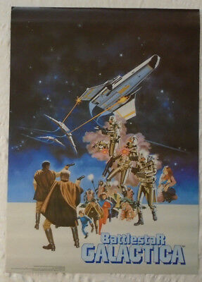 Battlestar Galactica 1978 Poster Pro Arts Medina Ohio New Condition