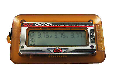 TURNIGY DLUX Lipo Battery Cell Capacity Volt Meter Checker & Balancer 2-6S RC H1