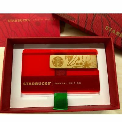 Starbucks Mexico 2017 Holiday Limited Edition Special Card PIN Full Covered F/S