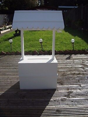 Wedding wishing well 80 cm high with cert 4 sale free postage in the uk..
