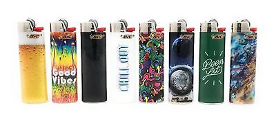 Bic Favorites Good Vibes Chill Out Lighters 8pk Special Limited Edition Designs