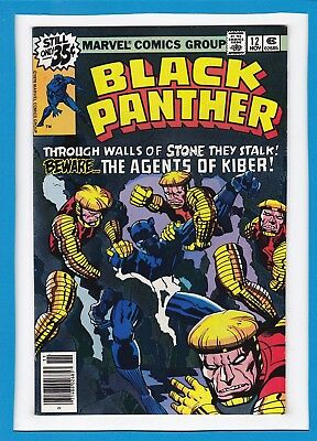 Black Panther #12_November 1978_Very Fine_Classic Jack Kirby_Bronze Age Marvel!