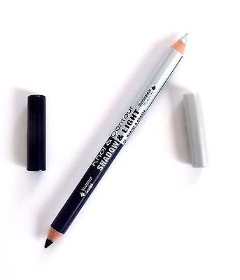 Bourjois Kohl & Contour Eyeliner Pencil Duo 14 Marine & Dragee Navy Blue Silver