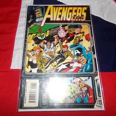 The Avengers Log #1 - History of the Earth's Mightiest Heroes - Marvel Comics