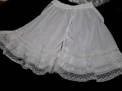 antique lace french knickers vintage original