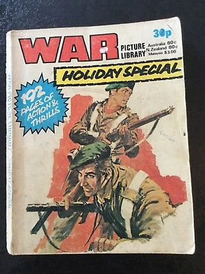 Vintage War Picture Library Holiday Special 1978