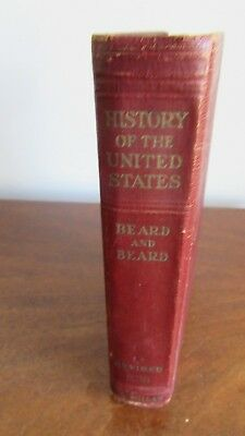 History Of The United States by Charles and Mary Beard 1942 Vintage Book
