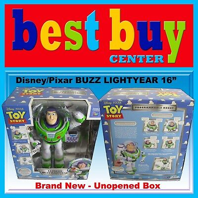 Disney Toy Story Ultimate 16 inches Tall Buzz Lightyear RC Remote Control Robot