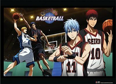*NEW* Kuroko's basketball: Basketball Game Landscape Wall Scroll by GE Animation