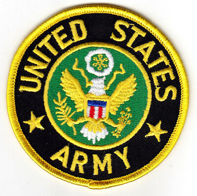 """""""UNITED STATES ARMY""""  - MILITARY - PATRIOTIC - DUTY- iron On Patch"""