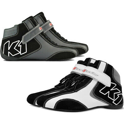 K1 - Champ Karting Shoes - Leather Go Kart Racing Shoes - Youth & Adult Sizes