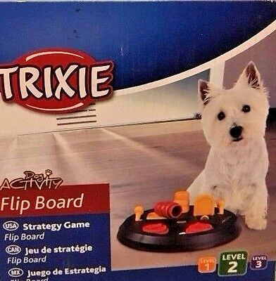 Dog Training Toy Animal Activity Flip Board TRIXIE Strategy Snack Game Puppy