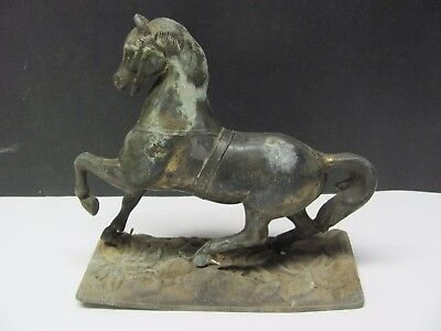 Vintage Galloping Bronze Horse /Antique Road Show 1/28/2018 Horse Statue 1895