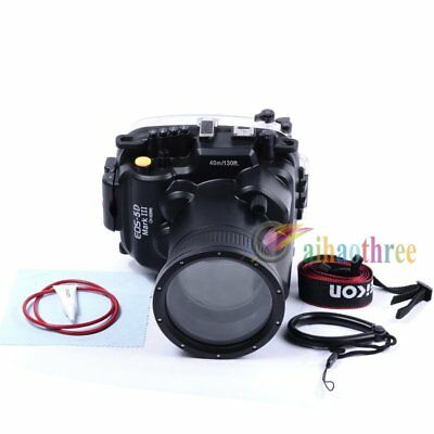 Meikon 40m/130ft Underwater Waterproof Diving Case For Canon 5DIII 5D3 24-105mm
