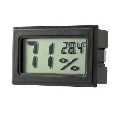 Mini Digitale LCD Indoor Temperatura Misuratore Umidit? Termometro Igrometro DB