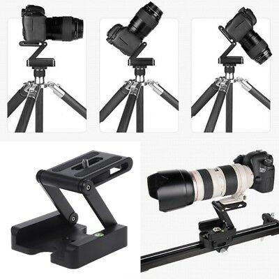 Portable Z-Type Folding Camera Tripod Pan Tilt Ball Head Desktop Stand Holder