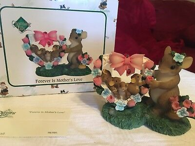 """Charming Tails """"FOREVER IS MOTHER'S LOVE""""  SIGNED BY DEAN GRIFF NIB"""
