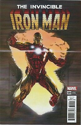 Invincible Iron Man 600 Alex Ross 1:50 Incentive Variant Nm