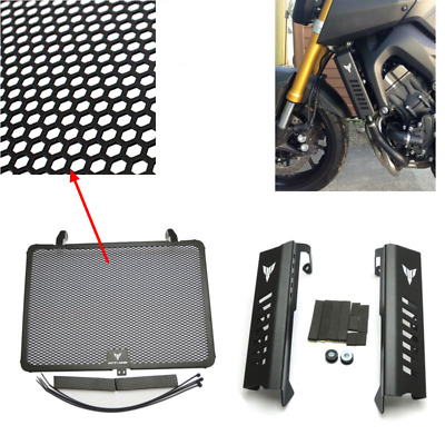 Radiator Grille Guard & Side Cover Protector for Yamaha MT09 MT-09 FZ-09