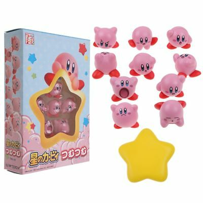 Latest Cute Nintendo Kirby Dreamland Nose Character Action Figure From JP Tsumus