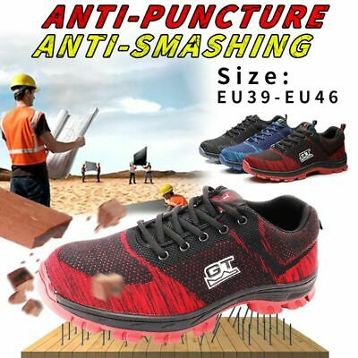 GT Men's Work Steel Toe Cap Indestructible Safety Shoes Run Soft Hiking Boots