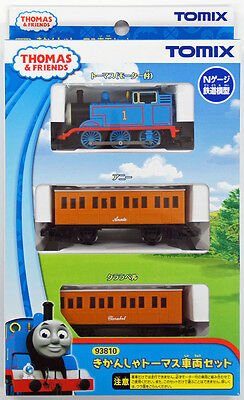 Tomix 93810 Thomas Tank Engine & Friends Thomas 3 Cars Set (N scale)