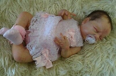 Strawberries'n'Cream~Reborn Baby Girl Lucia By Adrie Stoete, New Release ,LTD ED